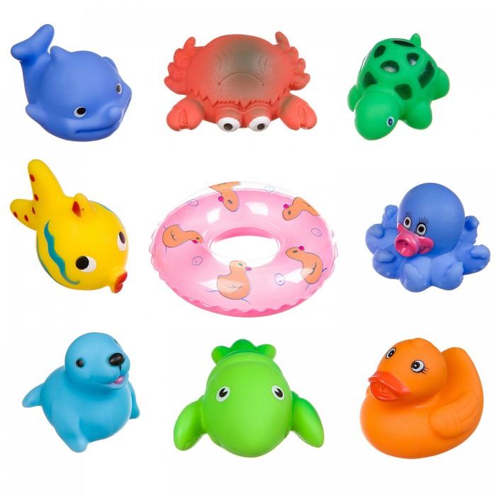 Картинка для Игрушки для ванны Bondibon Набор игрушек для купания ВВ3368