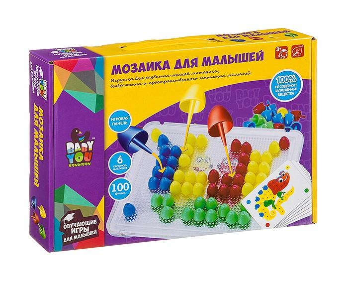 Bondibon Мозаика для малышей 100 фишек фото