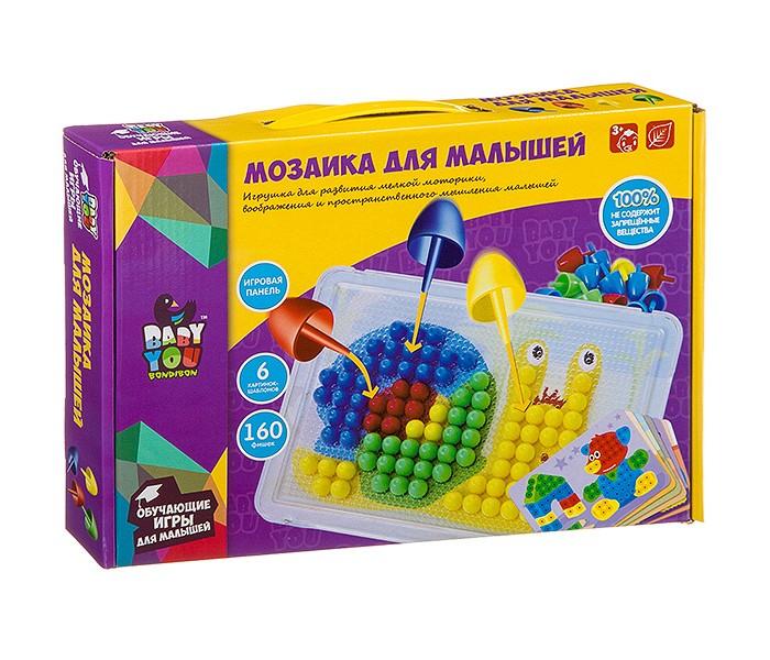 Картинка для Мозаика Bondibon Мозаика для малышей 160 фишек