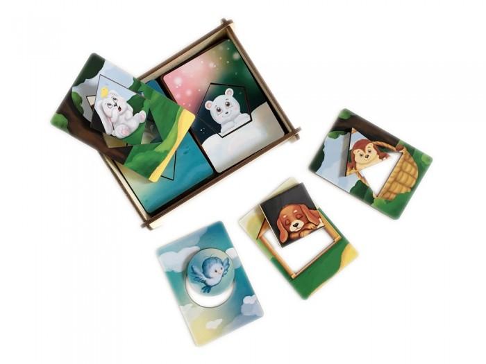 Картинка для Деревянные игрушки Сибирские игрушки Досочки Сегена Животные