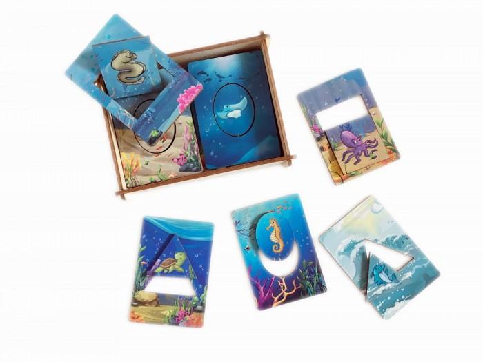 Картинка для Деревянные игрушки Сибирские игрушки Досочки Сегена Морские обитатели