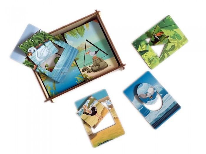 Картинка для Деревянные игрушки Сибирские игрушки Досочки Сегена Птицы