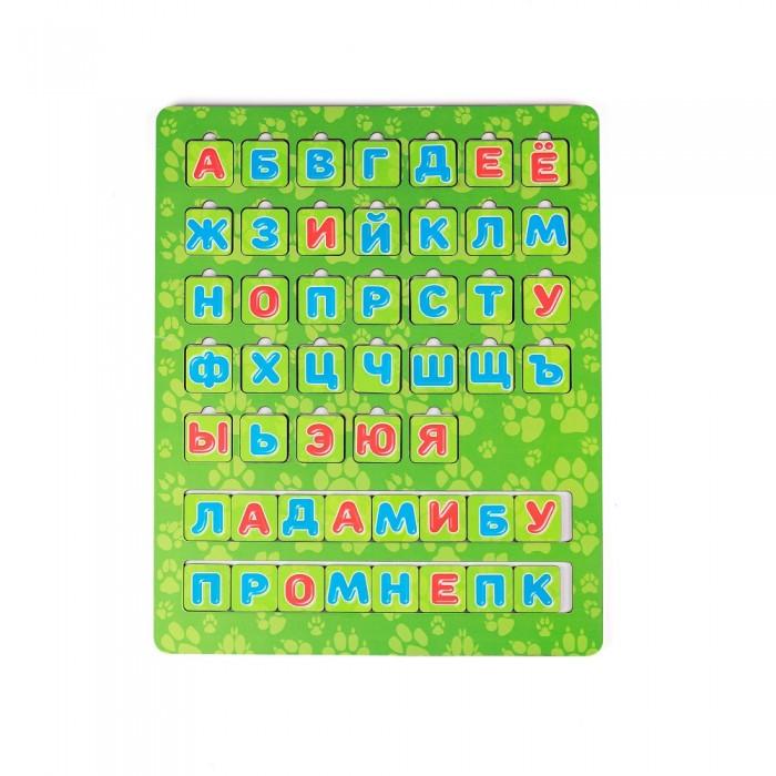 Картинка для Деревянные игрушки Сибирские игрушки Алфавит с полем Животные