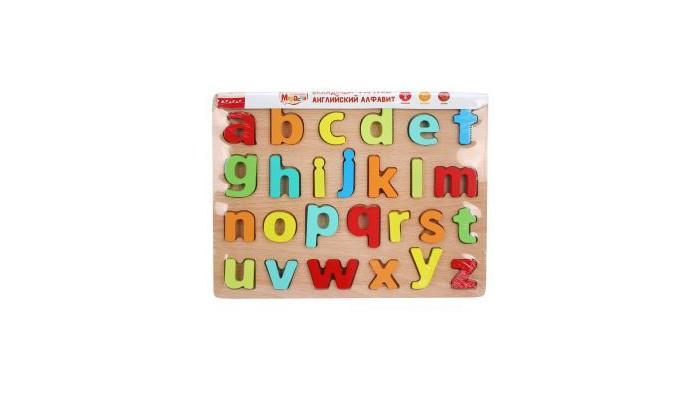 Деревянные игрушки Mapacha Вкладыши Английский алфавит