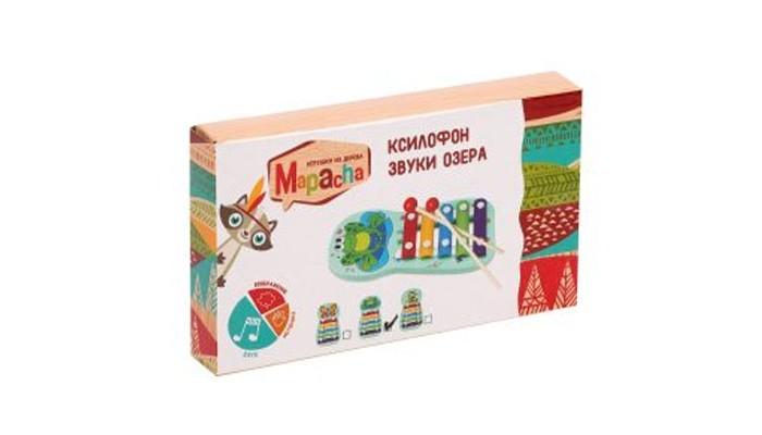 Картинка для Деревянные игрушки Mapacha Ксилофон Звуки озера маленький
