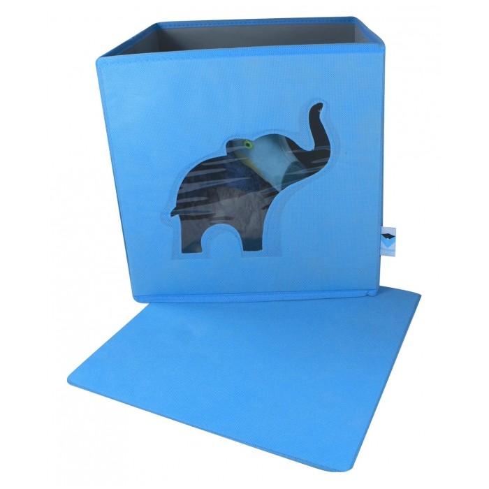 Store it Контейнер с крышкой и прозрачным окном Слон
