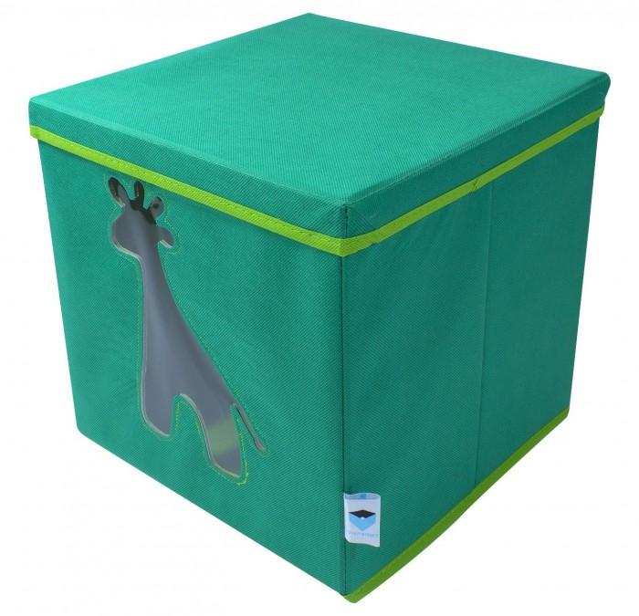 Картинка для Ящики для игрушек Store it Контейнер с крышкой и прозрачным окном Жираф