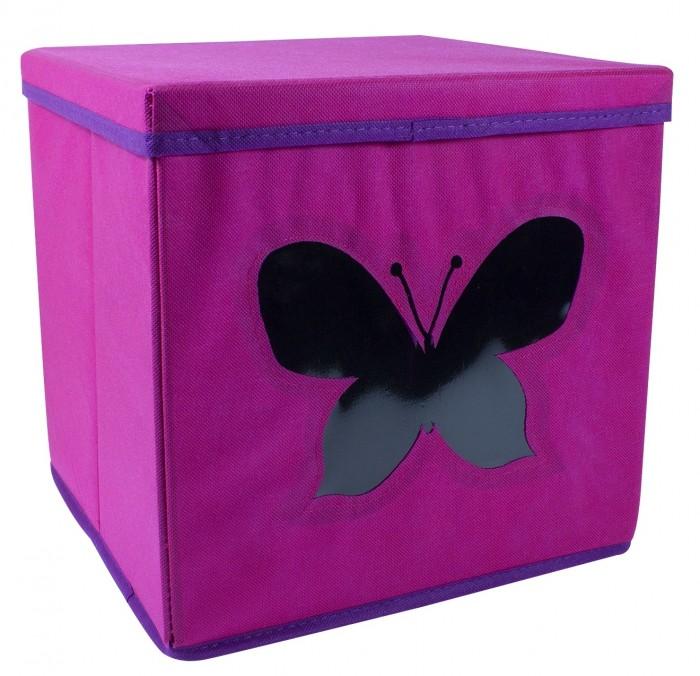 Картинка для Ящики для игрушек Store it Контейнер с крышкой и прозрачным окном Бабочка