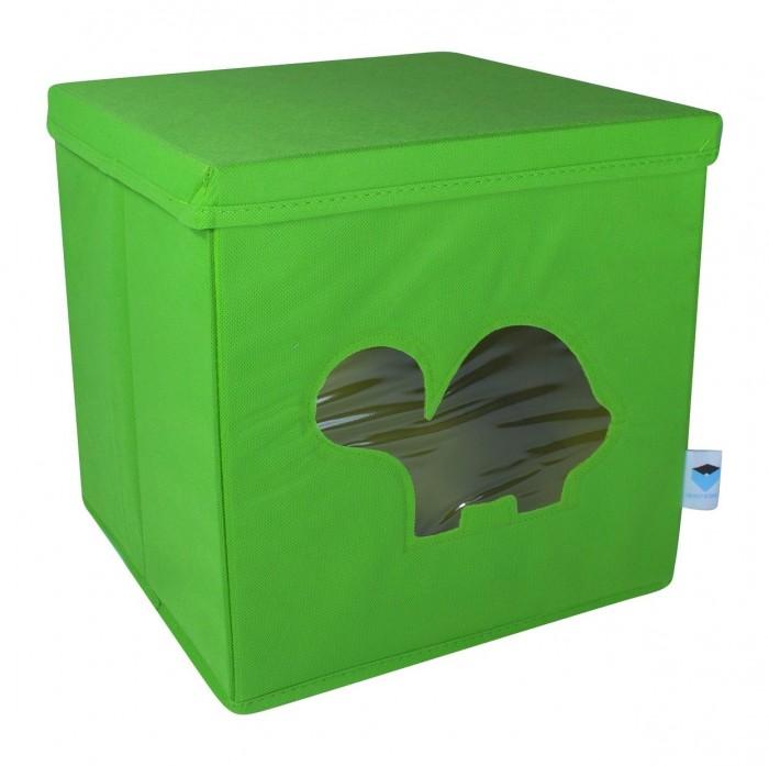 Картинка для Ящики для игрушек Store it Контейнер с крышкой и прозрачным окном Черепашка
