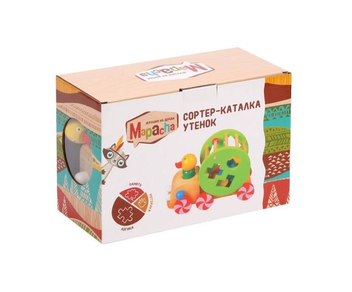 Картинка для Каталки-игрушки Mapacha Сортер Утенок