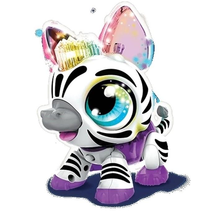 Картинка для Интерактивные игрушки 1 Toy РобоЛайф Зебра со световым эффектом