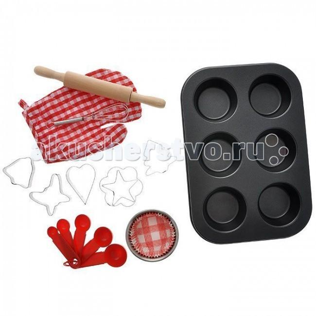 Ролевые игры 1 Toy Я сама Набор посуды для выпечки 17 предметов