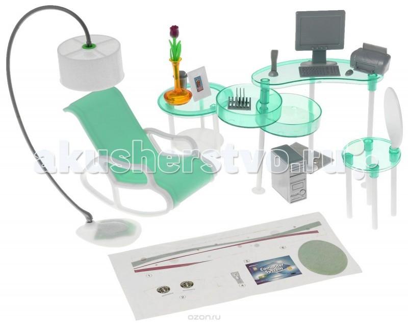Игровые наборы 1 Toy Набор мебели Домашний офис наборы аксессуаров для волос esli комплект аксессуаров для волос light yellow