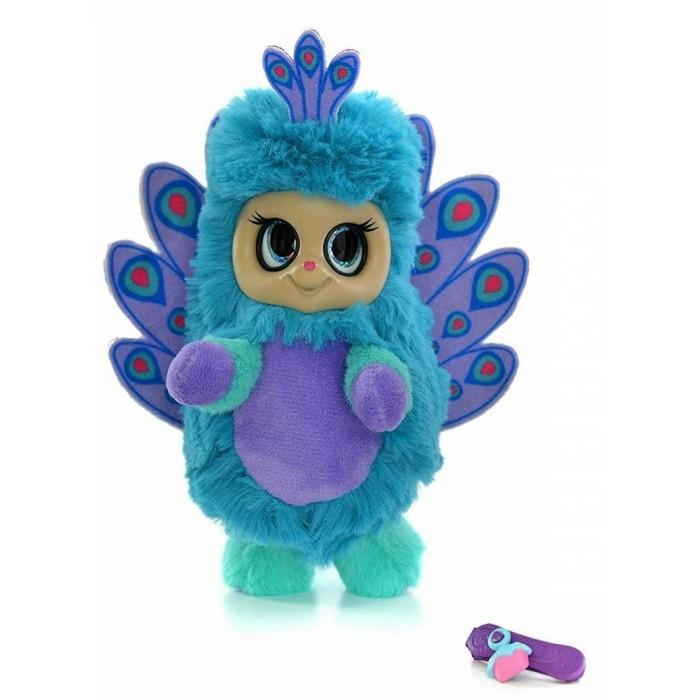 Купить Мягкие игрушки, Мягкая игрушка Bush Baby Пушастик Павлин Паола с аксессуаром