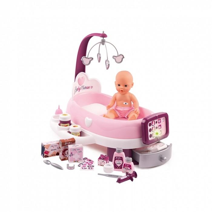 Купить Ролевые игры, Smoby Baby Nurse Набор по уходу за куклой с планшетом