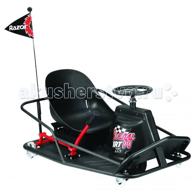 Купить Электромобили, Электромобиль Razor дрифт-карт Crazy Cart XL