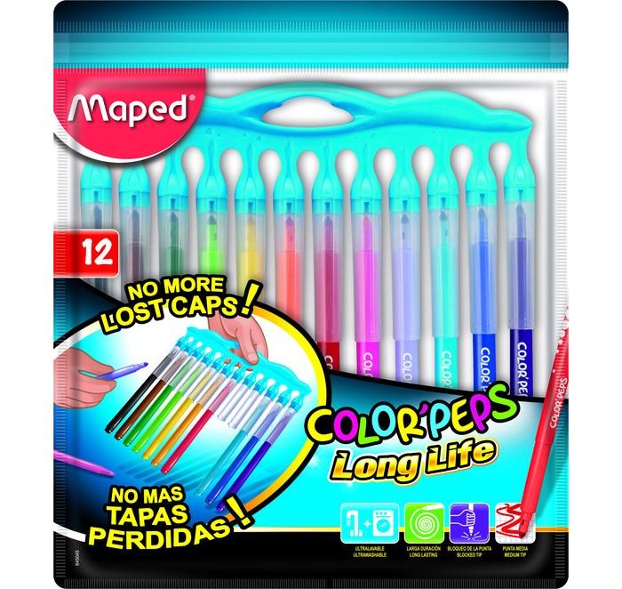 Фломастеры Maped Color Peps Long Life 12 цветов