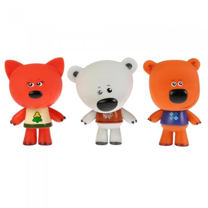 Картинка для Игрушки для ванны Капитошка Набор из 3-х игрушек для ванны Мимимишки Лисичка, Белая Тучка и Кеша