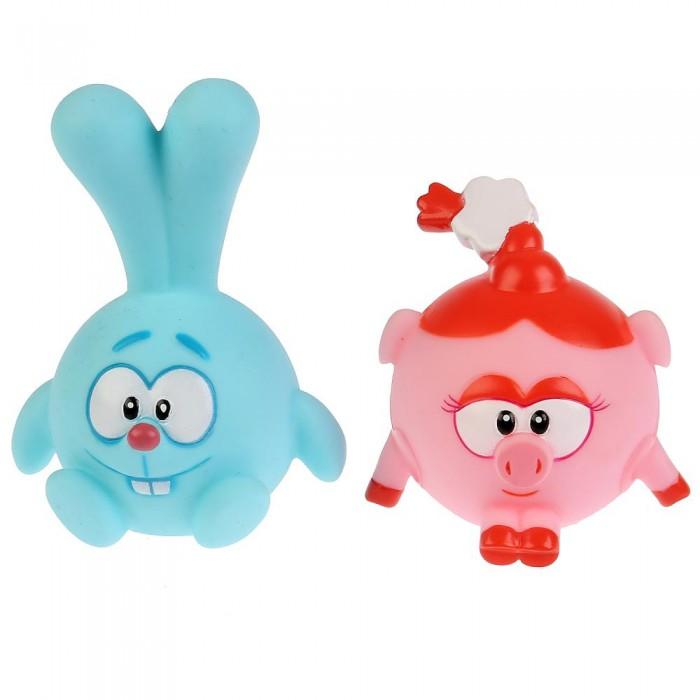 Фото - Игрушки для ванны Капитошка Набор из 2-х игрушек для ванны Смешарики Крош и Нюша игрушки для ванны капитошка игрушка для купания кот леопольд