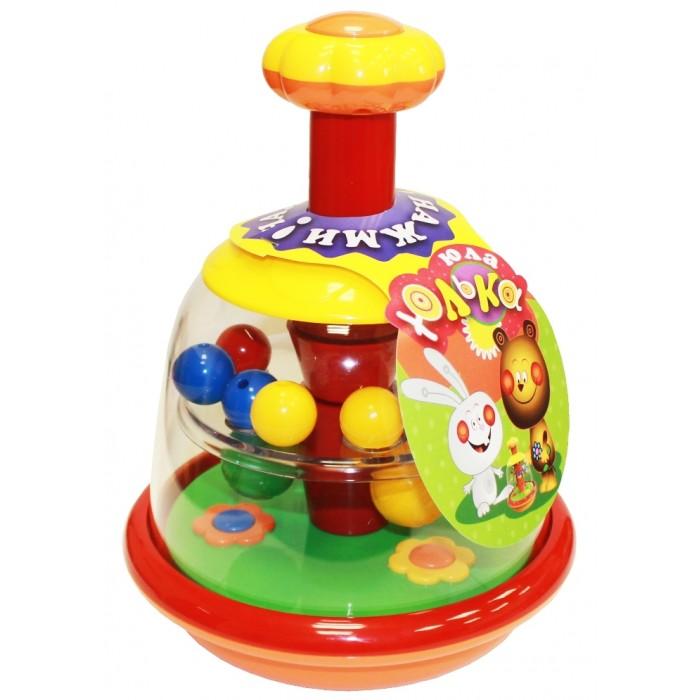 Купить Развивающие игрушки, Развивающая игрушка Биплант Юла Юлька