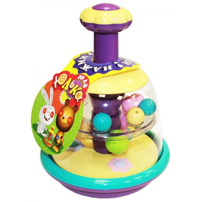 Купить Развивающие игрушки, Развивающая игрушка Биплант Юла Юлька пастельные цвета