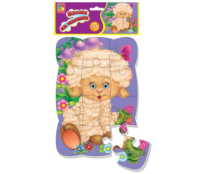 Пазлы Vladi toys Пазлы на магните Овечка vladi toys магнитная мозаика овечка 69 деталей vladi toys