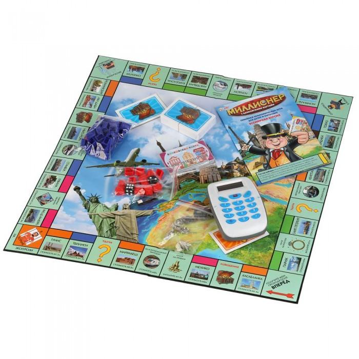 Играем вместе Игра настольная Миллионер с банковскими картами фото