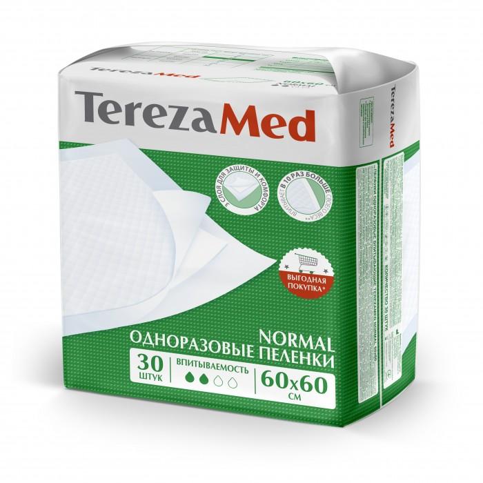 Картинка для Одноразовые пеленки TerezaMed Пеленки одноразовые впитывающие TerezaMed Normal 60x60 уп.30