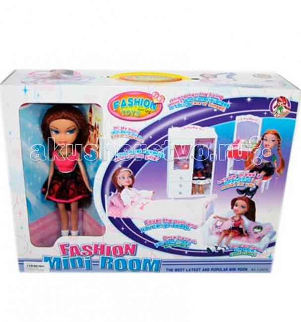 Tongde Кукла с мебельюКукла с мебельюTongde Кукла с мебелью станет прекрасным подарком для любой девочки. В комплект входит кукла и игрушечная мебель для нее. Подобный комплект дает возможность развивать фантазию ребенка и придумывать множество разнообразных игр.<br>