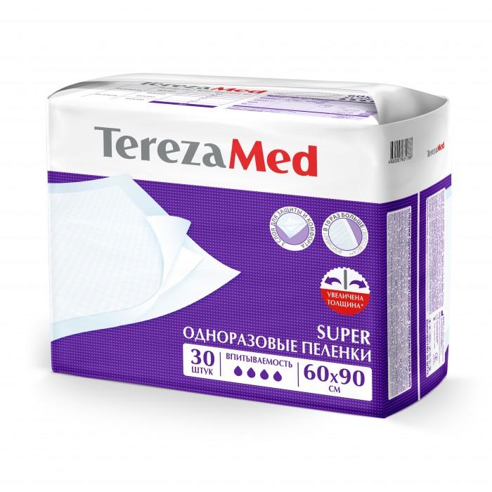 Купить TerezaMed Пеленки одноразовые Super 60x90 30 шт. в интернет магазине. Цены, фото, описания, характеристики, отзывы, обзоры