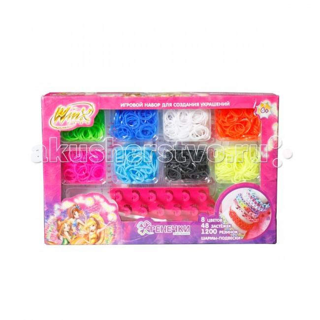 Резиночки для плетения 1 Toy Winx Фенечки Подарочный набор игровой набор 1 toy winx для плетения фенечек т58332