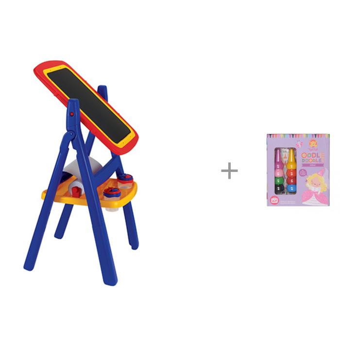 Доски и мольберты Grow'n up Двухсторонний мольберт с комплектом для рисования Девочки 6-0217