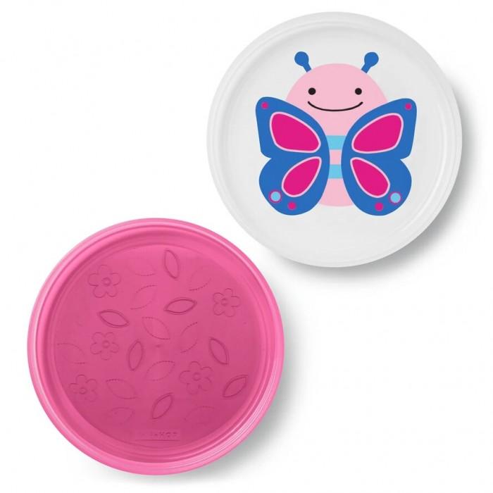 Картинка для Посуда Skip-Hop Набор из 2 тарелок Бабочка