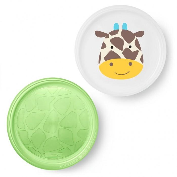 Картинка для Посуда Skip-Hop Набор из 2 тарелок Жираф