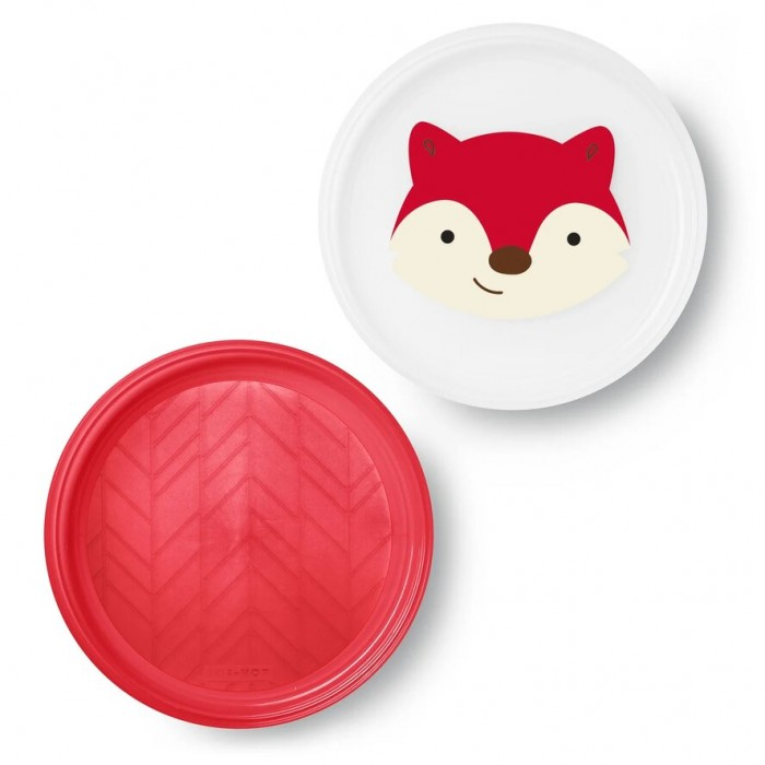 Картинка для Посуда Skip-Hop Набор из 2 тарелок Лиса