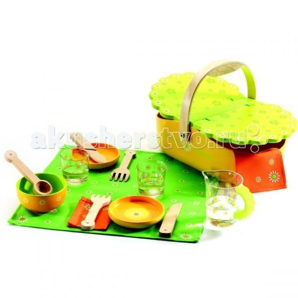 Деревянные игрушки Djeco Мой пикник деревянные игрушки djeco мой пикник