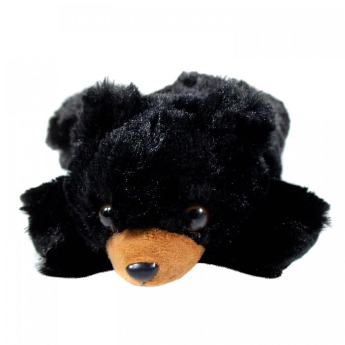 Картинка для Мягкие игрушки Wild Republic Черный медведь лежачий 17 см