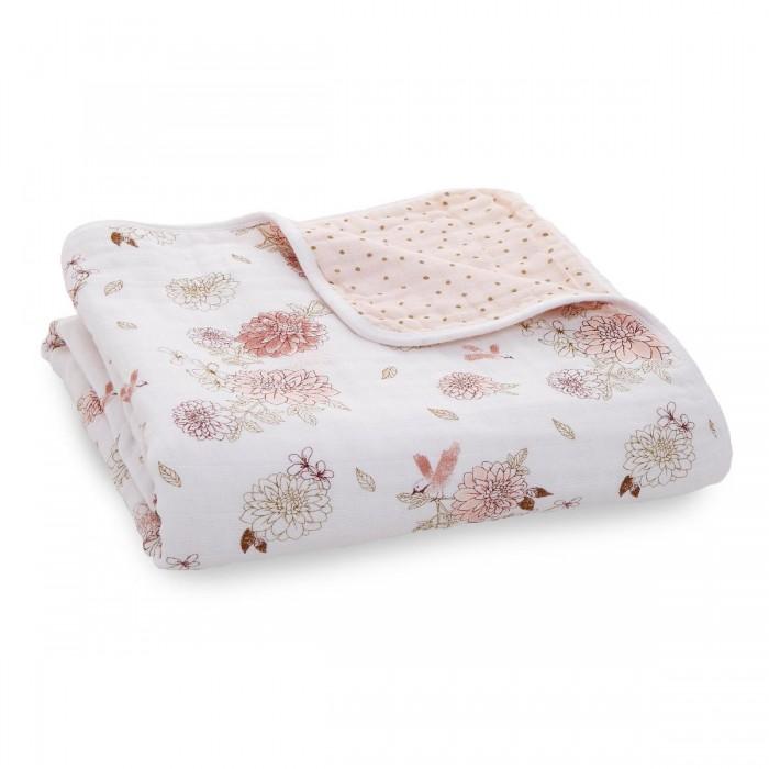 Купить Одеяла, Одеяло Aden&Anais из муслина Dahlias 120х120 см