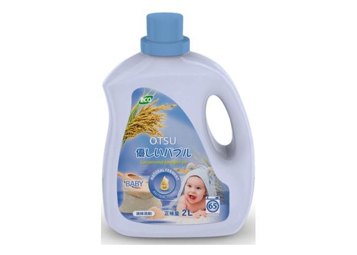 Картинка для Детские моющие средства OTSU Гипоалергенный гель концентрат для стирки детского белья 2 л