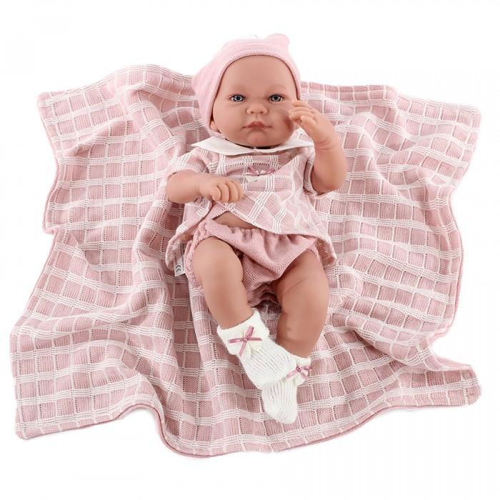 Фото - Куклы и одежда для кукол Munecas Antonio Juan Кукла-младенец Дафна в розовом 42 см куклы и одежда для кукол munecas antonio juan кукла эстефания в розовом 45 см