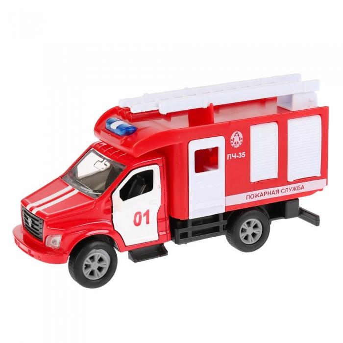 Купить Машины, Технопарк Машина металлическая ГАЗ Газон NEXT пожарная машина