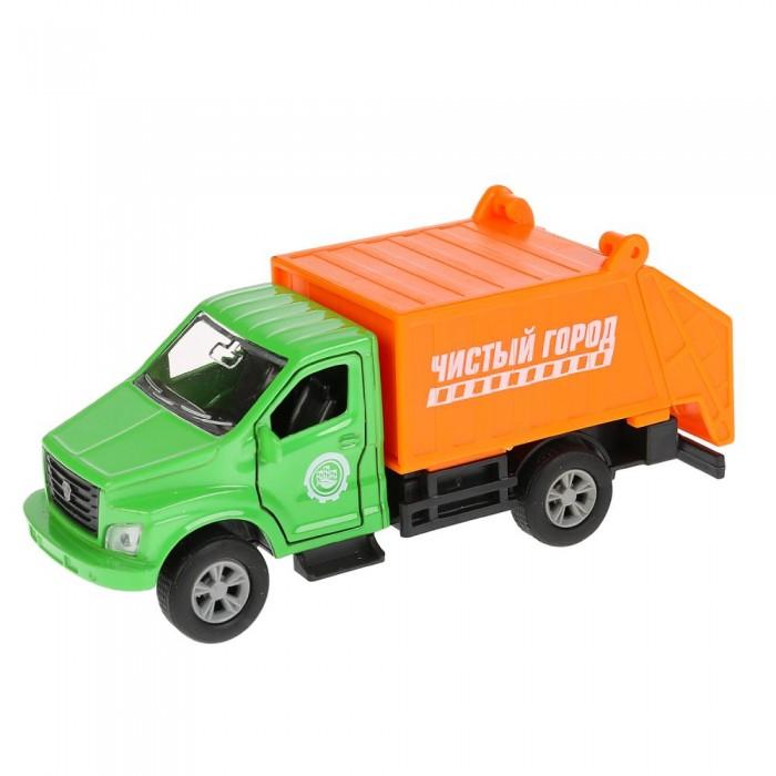 Технопарк Машина металлическая ГАЗ Газон NEXT мусоровоз фото
