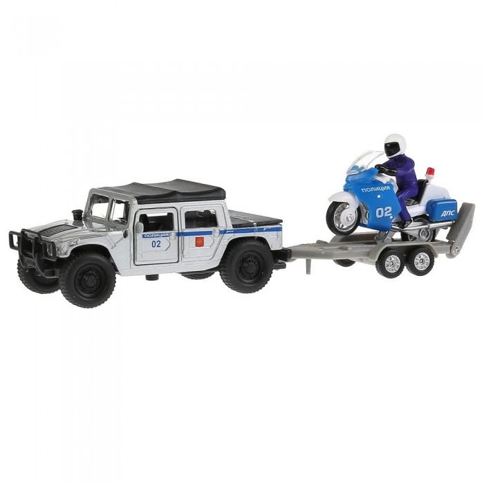 Купить Машины, Технопарк Машина металлическая Hummer H1 полиция