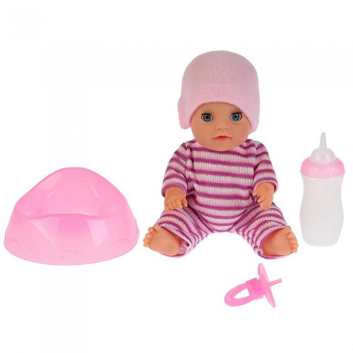 Картинка для Куклы и одежда для кукол Карапуз Развивающая интерактивная куколка-пупс Яночка 20 см