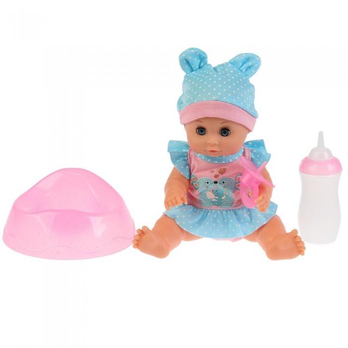 Картинка для Куклы и одежда для кукол Карапуз Развивающая интерактивная куколка-пупс Катюша 20 см
