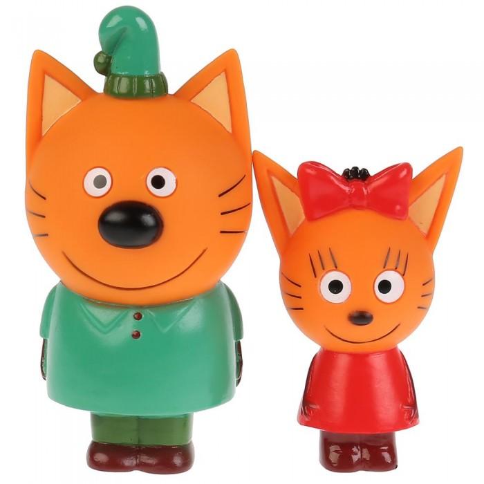 Картинка для Капитошка Набор из 2-х игрушек для ванны Капитошка Три Кота Карамелька и Компот