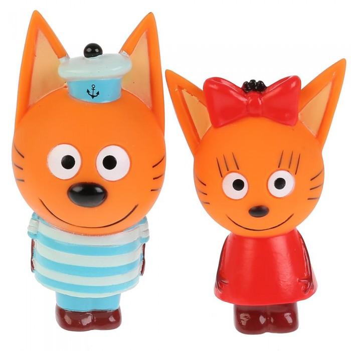 Купить Игрушки для ванны, Капитошка Набор из 2-х игрушек для ванны Три Кота Карамелька и Коржик