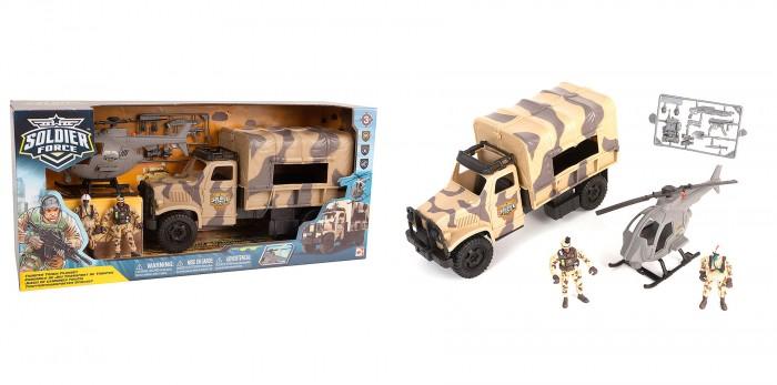 Фото - Игровые наборы Chap Mei Игровой набор Десантный грузовик игровые наборы chap mei игровой набор спасатель береговой охраны