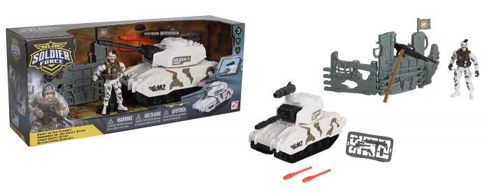 Фото - Игровые наборы Chap Mei Игровой набор Солдаты Стремительная атака на танке игровые наборы chap mei игровой набор спасатель береговой охраны