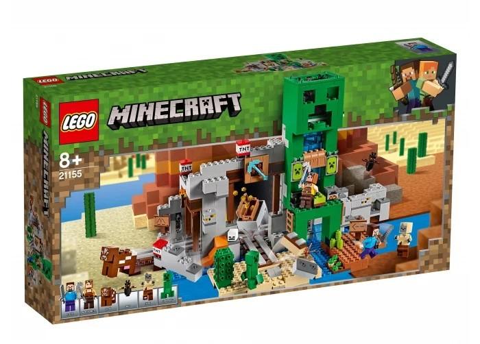 Купить Конструктор Lego Minecraft Шахта крипера